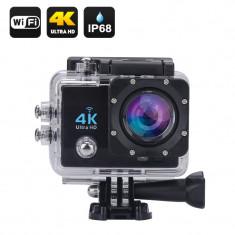 4K Wi-Fi Waterproof Action Camera (Black)