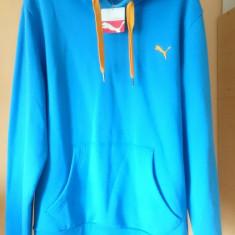 Hanorac Puma Nou si Original marimea L bluza gluga - Hanorac barbati Puma, Marime: L, Culoare: Albastru
