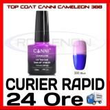 TOP COAT CANNI CAMELEON ALBASTRU 388 7.3ML - LUCIU FINAL - MANICHIURA GEL UV