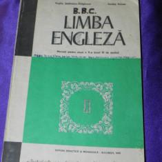 Manual Limba engleza manual clasa a X-a anul VI 6 1983 (f0904 - Curs Limba Engleza