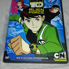 Ben 10 si echipa extraterestra - Ben 10 Alien Force - Sezonul 1 dublate romana - Film animatie independent productions, DVD