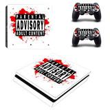 Skin / Sticker Playstation 4 PS4 SLIM+ 2 Skin controller, Huse si skin-uri