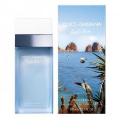 Dolce And Gabbana Light Blue Love In Capri Eau De Toilette Spray 100ml - Parfum femeie Dolce & Gabbana