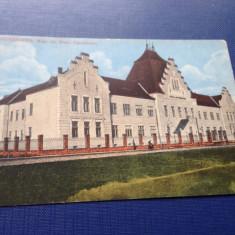"""Salonta Bihor COLEGIUL NAŢIONAL """"ARANY JÁNOS"""" DIN SALONTA 1917, Necirculata, Fotografie"""