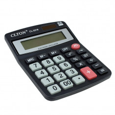 Calculator electronic, 12 digits, functii, tasta memorie, negru