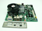 Kit placa baza DQ45CB+cpu E3120(E8500)-2x3.16Ghz+!8Gb DDR2+cooler P126, Pentru INTEL, LGA775