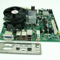 Kit placa baza DQ45CB+cpu E3120(E8500)-2x3.16Ghz+!8Gb DDR2+cooler P126, Pentru INTEL, LGA775