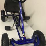 Kart Go Kart F100 cu pedale pentru copii 2-6 ani,albastru