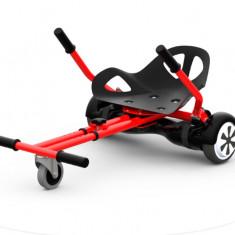 Hoverkart Junior Extreme Balance compatibil cu hoverboard de 6.5 inch, culoare negru.