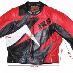 Costum moto piele IXS, protectii, barbati, marimea 56(XXL) - Imbracaminte moto, Combinezoane