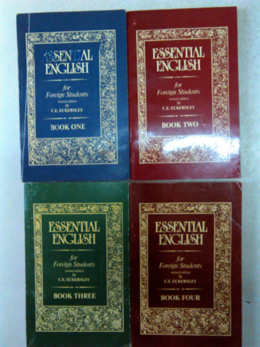 C. E. Eckersley -Essential English for foreign Students (Book I, II, III, IV)