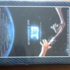 E.T. - EXTRATERESTRUL - CASETA VIDEO VHS ORIGINALA IN LIMBA GERMANA - Film SF columbia pictures, Altele