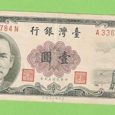 TAIWAN 1 YEN - bancnota asia