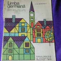 Manual Limba germana - pentru clasa a VII-a anul 3 - Livia Stefanescu 1979 - Curs Limba Engleza