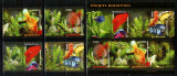 Romania 2005, LP 1676 a + 1676 c, Pesti exotici, serie + bloc, MNH! LP 31,30 lei, Fauna, Nestampilat