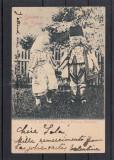 REGALITATE SALUTARE DIN SINAIA  PRINTUL CAROL SI PRINTESA ELISABETA CIRC. 1901, Circulata, Printata