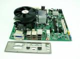 Kit placa baza DQ45CB+cpu E5700(E8400)-2x3.00Ghz+!8Gb DDR2+cooler P123, Pentru INTEL, LGA775