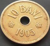 Moneda 10 Bani - ROMANIA, anul 1905  *cod 44