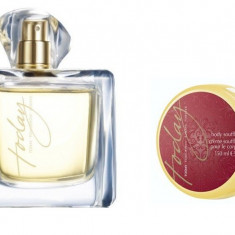 Set Femei TODAY Tomorrow Always - Parfum 100 ml, Crema corp 150 ml - Avon - NOU