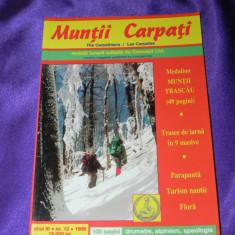 Revista Muntii Carpati nr 13 special Muntii Trascau 49 pagini (f3186 - Carte Geografie