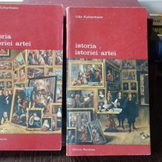 ISTORIA ARTEI - UDO KULTERMANN 2 VOLUME - Carte Istoria artei