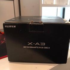 Camera Foto Mirrorless Fujifilm X-A3 Cutie noua 0 cadre - Aparate foto Mirrorless