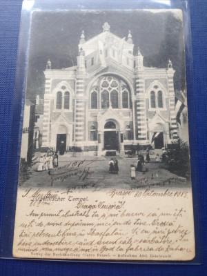 Brasov 1903 Sinagoga Evreiască RARA !!! foto