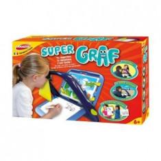 Kit de desen cu accesorii, Super Graf