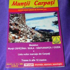 Revista Muntii Carpati nr 12 special Muntii Capatana Buila Vanturarita Cozia