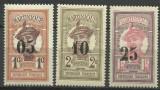 Cumpara ieftin SERIE supratipar Colonii Franta-Martinique ( Martinica )-1920 EROARE MNH, Nestampilat