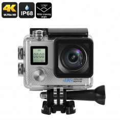 4K Sports Action Camera (Silver)