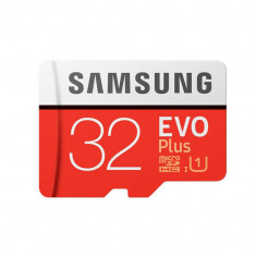 Card Samsung microSDHC EVO Plus 32GB UHS-I U1 cu adaptor SD