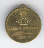 Medalia REGIMENTUL 4 ROSIORI REGINA MARIA - RECUNOSTINTA EROILOR 1916 -1919