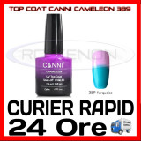 TOP COAT CANNI CAMELEON TURQOISE 389 7.3ML - LUCIU FINAL - MANICHIURA GEL UV