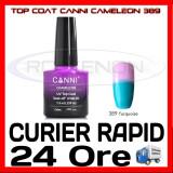 TOP COAT CANNI CAMELEON TURQOISE 389 7.3ML - LUCIU FINAL - MANICHIURA GEL UV