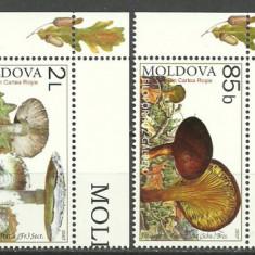 Moldova 2007 - ciuperci, serie neuzata