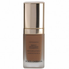 Dolce & Gabbana The Foundation Perfect Matte Liquid Foundation Soft Sable 180 30ml