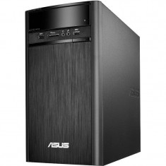Sistem desktop Asus K31CD-K-RO035D Intel Core i3-7100 4GB DDR4 1TB HDD nVidia GeForce GT 720 2GB Endless OS Black - Sisteme desktop fara monitor Asus, 1-1.9 TB, Fara sistem operare