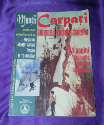 revista Muntii Carpati nr 3 medalion muntii Valcan (f3181 foto