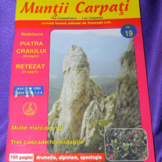 Revista Muntii Carpati nr 19 special Piatra Craiului, Retezat (f3188