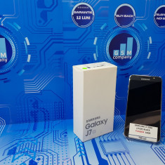 Samsung Galaxy J7 2016 J710F Black FACTURA+GARANTIE Impecabil Fullbox - Telefon Samsung, Negru, Neblocat, Single SIM
