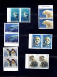 Romania 2007 antarctic fauna - 6256/61 seria