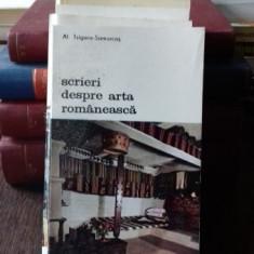 SCRIERI DESPRE ARTA ROMANEASCA - AL. TZIGARA SAMURCAS