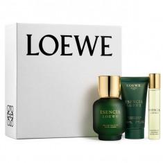 Loewe Esencia Pour Homme Eau De Toilette Spray 100ml Set 3 Pieces 2016