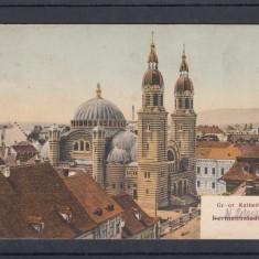 SIBIU CATEDRALA CIRCULATA - Carte Postala Transilvania dupa 1918, Printata