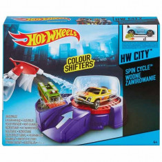 Jucarie Pista Hot Wheels Spin Cycle Colour Shifters BHN10 Mattel