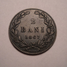 2 bani 1867 Heaton - Moneda Romania