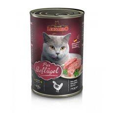 Leonardo conservă pentru pisici - cu carne de pui 400 g foto mare