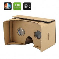 DIY Cardboard VR mobile phone 3D glasses