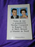 Vizita de stat a lui Nicolae Ceausescu in Marea Britanie iunie 1978 (f3194